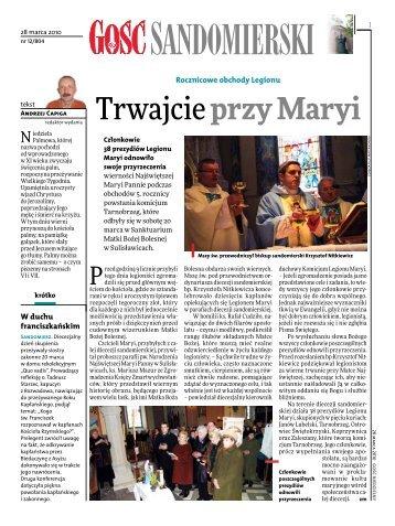 Trwajcie przy Maryi - Tygodnik Katolicki - Gość Niedzielny