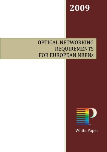 OPTICAL NETWORKING REQUIREMENTS FOR ... - Phosphorus