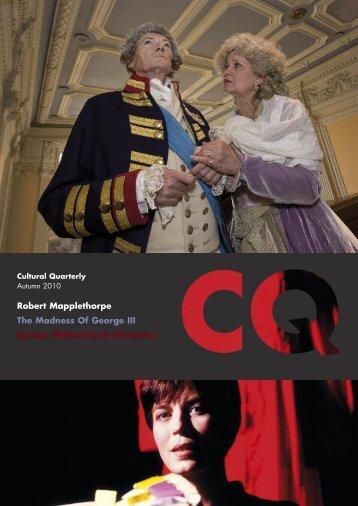 Autumn 10 - Cultural Quarterly Online