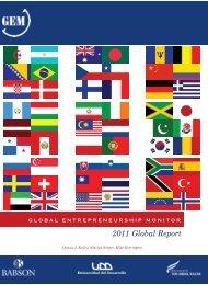 GEM Global Report - Institute for Entrepreneurship