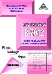 Nota Penerangan B 2012 - Lembaga Hasil Dalam Negeri