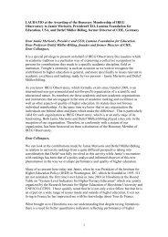 Download .pdf - International Observatory on Academic Ranking ...