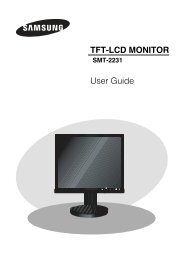 TFT-LCD MONITOR User Guide