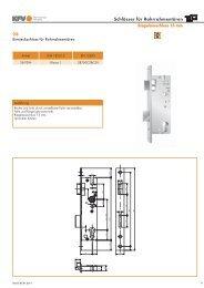 Riegelausschluss 15 mm - Aachener Sicherheitshaus Rennert
