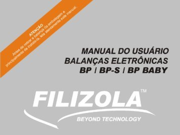 Manual Baby - Filizola