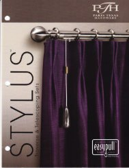 Untitled - Curtain Rods by Quality Curtain Hardware