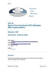 STC-X - IVOA