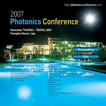 Photonics Conference