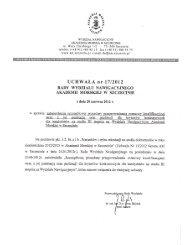 (uchwa\263 rady WN 17 procedura kwalifikacyjna.pdf) - Studia ...