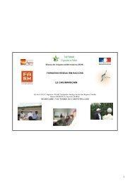 RIM Maroc : résultats de l'évaluation ... - Fondation FARM