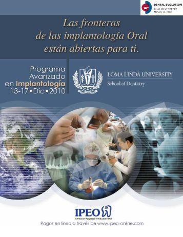 Las fronteras de las implantología Oral están abiertas ... - AEAP.es