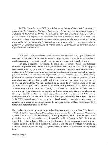 Convocatoria educacion especial curso 2016 2017 Convocatoria docentes 2016 ministerio de educacion