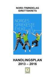 HANDLINGSPLAN 2013 – 2016
