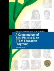 A Compendium of Best Practice K-12 STEM Education ... - Bayer