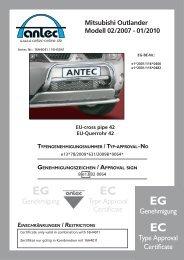 TÜV-Gutachten (0.8 MB) - Antec Fahrzeugtechnik GmbH