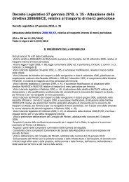 Decreto Legislativo 27 gennaio 2010, n. 35 - Attuazione della ...