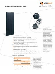 Datenblatt WSI-Serie - WINAICO