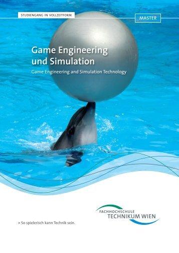 Masterstudiengang: Game Engineering und Simulation