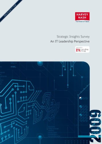 Strategic Insights Survey An IT Leadership Perspective - Harvey Nash