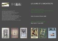 Le livre et architecte - Ramau