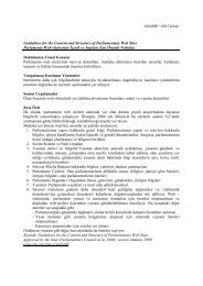 Guidelines for the Content and Structure of Parliamentary Web Sites ...