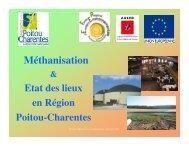 Biogaz en Poitou-Charentes - Région Poitou-Charentes