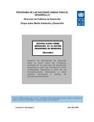PROGRAMA DE LAS NACIONES UNIDAS PARA EL ... - UNDPCC.org