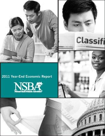 2011 Year-End Economic Report - NSBA