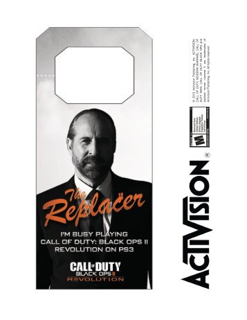door hangers template_Canada - Call of Duty