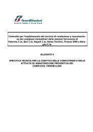 Allegato n. 4 al Capitolato Tecnico (.pdf 112 KB ) - Grandi Stazioni ...