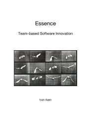 Essence - Intranet - Department of Computer Science: Login