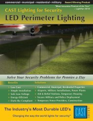 to view this brochure from CAST Lighting LLC - NFMT