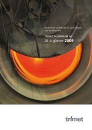 At a glance 2009 - TRIMET Aluminium SE