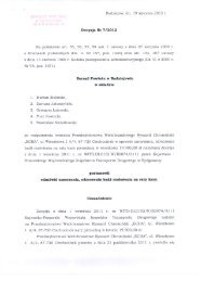 Radziejów, dn. 19 stycznia 2012 r.