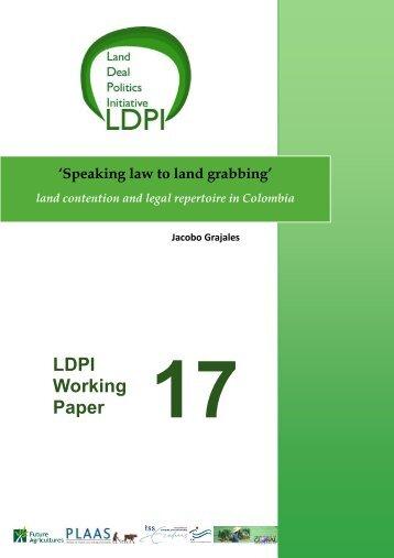 LDPI Working Paper - ISS