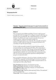 regeringens plan för sammanhållningspolitiken 2007-2013