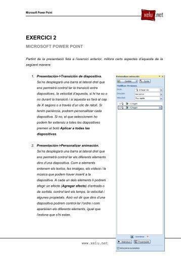 Exercici 02 - Xelu.net
