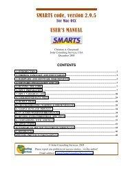 SMARTS code, version 2.9.5 USER'S MANUAL - Renewable ...