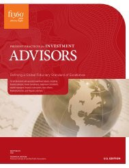 Prudent Practices for Investment Advisors handbook - Fi360