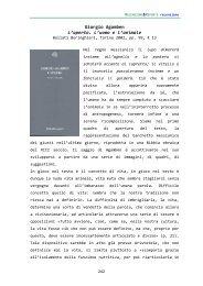 Giorgio Agamben L'aperto. L'uomo e l'animale - scienzaefilosofia.it
