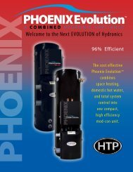 the Next EVOLUTION of Hydronics - Heat Transfer Products, Inc