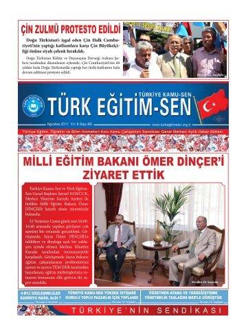 milli eğitim bakanı ömer dinçer'i ziyaret ettik - Türk Eğitim-Sen