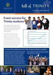 talk of TRINITY - Trinity School