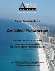 Destin/South Walton Auction