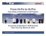 From Hi-Po to Hi-Pro - Summit