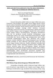 pencitraan berbasis dimensi budaya - S1 Ilmu Komunikasi UNSOED