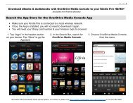 Overdrive for Kindle Fire