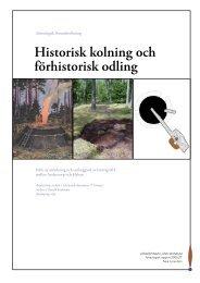 2005_27 Historisk kolning och förhistorisk odling.pdf - Gislaveds ...