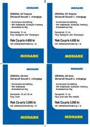 Rek Ca-pris 4.695 kr - Cycleurope