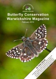 Butterfly Conservation Warwickshire Magazine
